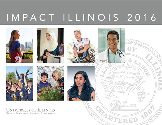 coverpage of Impact Illinois 2016 Report