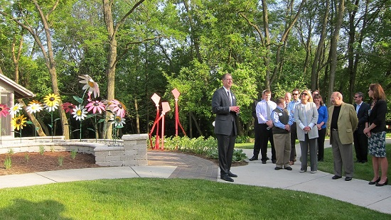 Healing Garden Opens at Almost Home Kids - UIC Specialized Care for ...