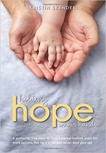 "Book cover for ""Holding Hope in our Hands"""