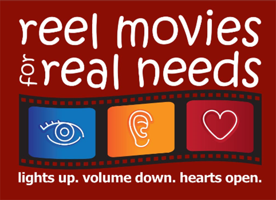 Reel Movies for Real Needs logo