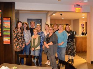 DSCC's Springfield RO and CAO staff pose after preparing dinner at the Ronald McDonald House in Springfield.