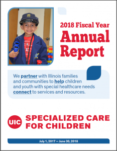 DSCC's FY 2018 Annual Report cover