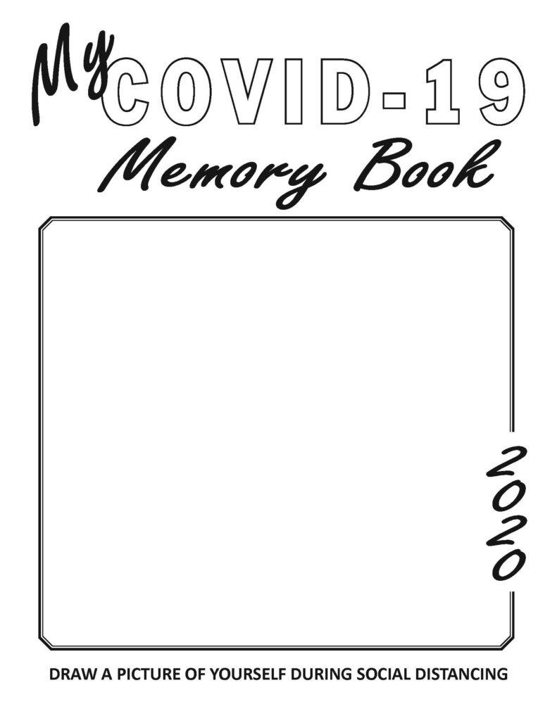 COVID-`9 Memory Book cover