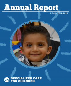 Front cover of DSCC's FY 2020 Annual Report