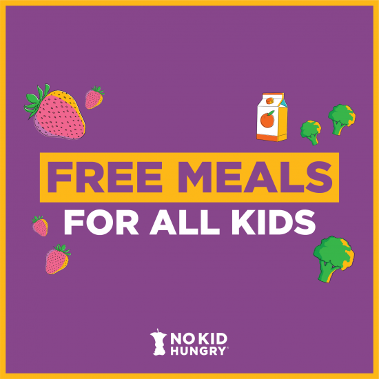 Free Meals for All Kids logo